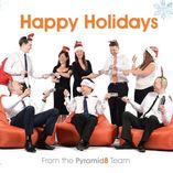 Show happy hollidays from pyramid 8
